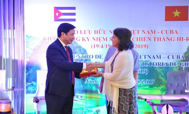 Les localites cubaines souhaitent cooperer avec la province de Ninh Binh hinh anh 1