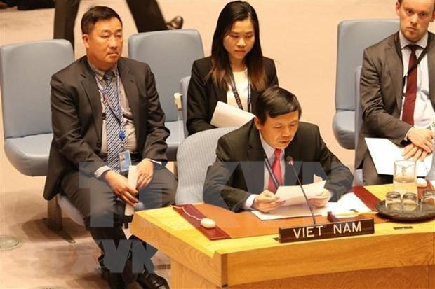 Le Vietnam consolide sa position au sein de l'ONU hinh anh 1