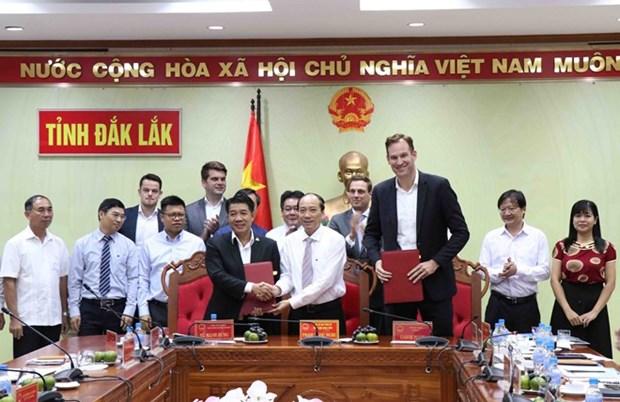 Agriculture : 66 millions de dollars investis dans un complexe a Dak Lak hinh anh 1