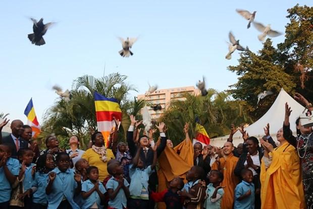 L'Organisation d'une ceremonie de priere pour la paix au Mozambique hinh anh 1