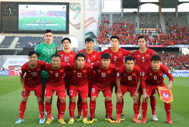 Le Vietnam gagne deux places dans le classement de juin 2019 de la FIFA hinh anh 1