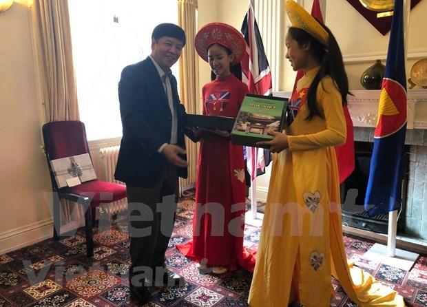 Une delegation du Comite d'Etat charge des Vietnamiens residant a l'etranger au Royaume-Uni hinh anh 1