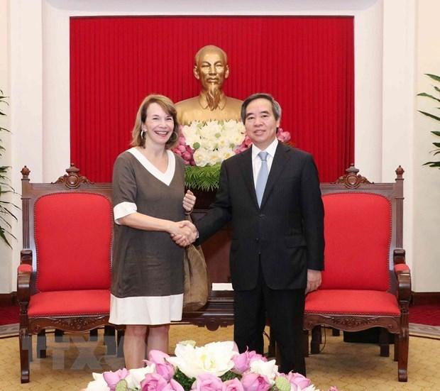 Le Vietnam etudie des experiences du VBF en matiere de developpement energetique hinh anh 1