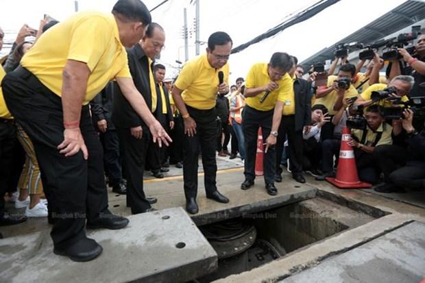 La Thailande construit des reservoirs d'eau souterrains a Bangkok face aux inondations hinh anh 1