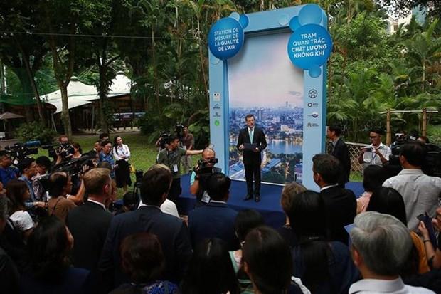 Une autre station de mesure de la qualite de l'air est implantee a Hanoi hinh anh 1