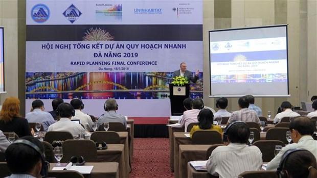 Da Nang : Conference-bilan du projet de planification rapide de l'ONU-Habitat hinh anh 1