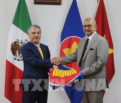L'ASEAN tient en haute estime le role du Vietnam au Mexique hinh anh 1