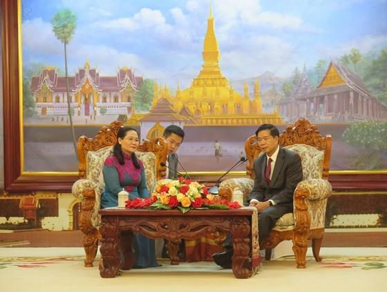 Une delegation de Ho Chi Minh-Ville en visite au Laos hinh anh 1