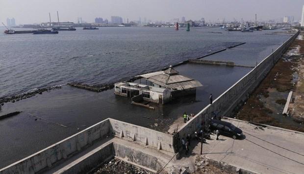 L'Indonesie envisage de construire une digue maritime geante hinh anh 1