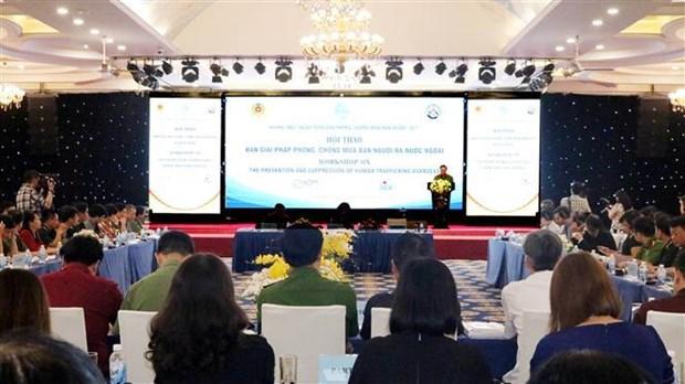 Un seminaire sur la lutte contre la traite des etres humains a Lang Son hinh anh 1