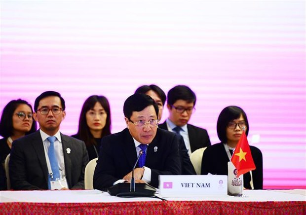 Conference des ministres des Affaires etrangeres ASEAN-Japon en Thailande hinh anh 1