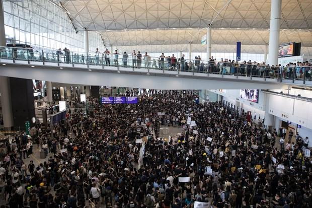 Vietnam Airlines et Jetstar Pacifique modifient des vols a cause des manifestions a Hong Kong hinh anh 1
