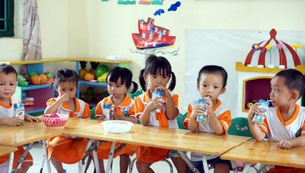 Hanoi promeut le programme « Du lait a l'ecole » pour la periode 2019-2020 hinh anh 1