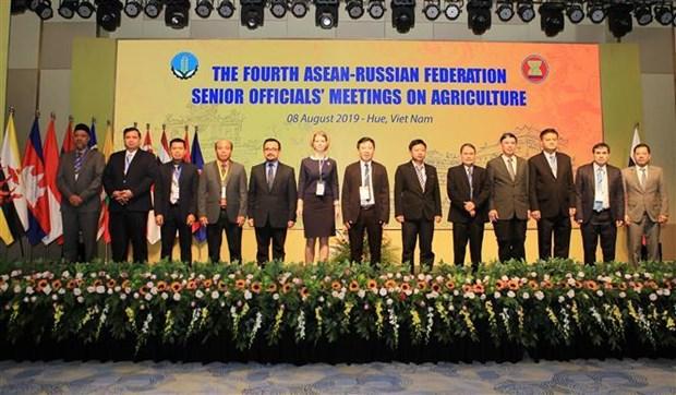 Agriculture : Cloture de la reunion AMAF ASEAN+3 a Thua Thien-Hue hinh anh 1
