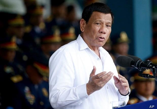 Le president philippin ordonne le renforcement des forces de police hinh anh 1