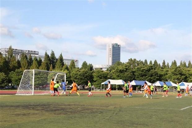 Le 12e Congres sportif des etudiants vietnamiens en Republique de Coree hinh anh 1