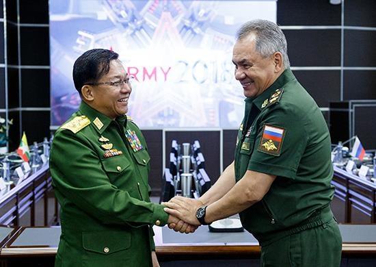 Les Armees du Myanmar et de la Russie intensifient leur cooperation multiforme hinh anh 1