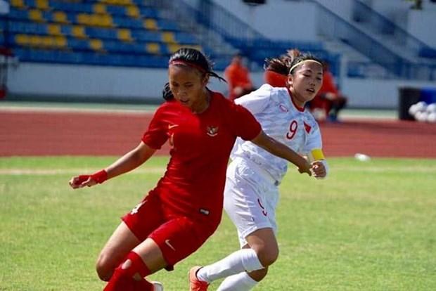 Le Vietnam en tete du groupe B au Championnat feminin de l'AFF hinh anh 1