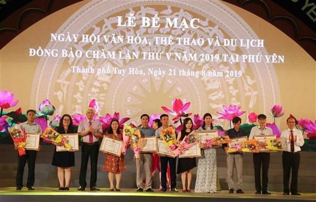 Cloture de la 5e Fete de la culture, des sports et du tourisme des Cham a Phu Yen hinh anh 1