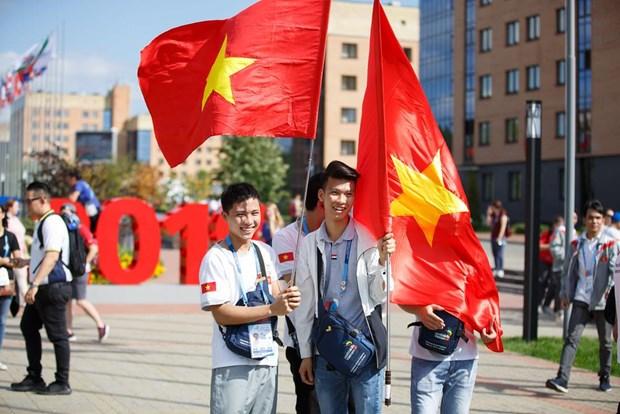 Le Vietnam aux 45es Olympiades des metiers en Russie hinh anh 1