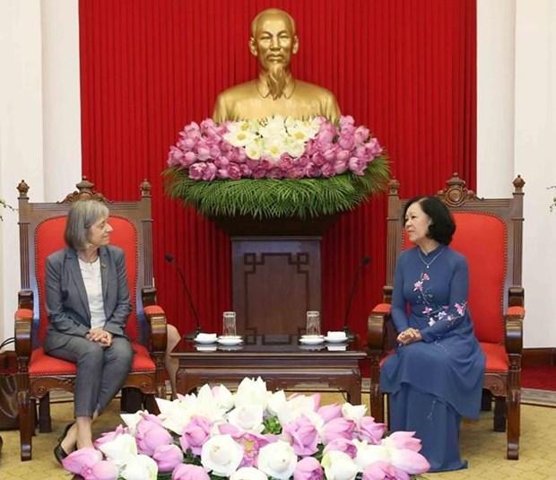 L'OIT s'engage a aider le Vietnam a ameliorer ses politiques en matiere de travail et de bien-etre hinh anh 1
