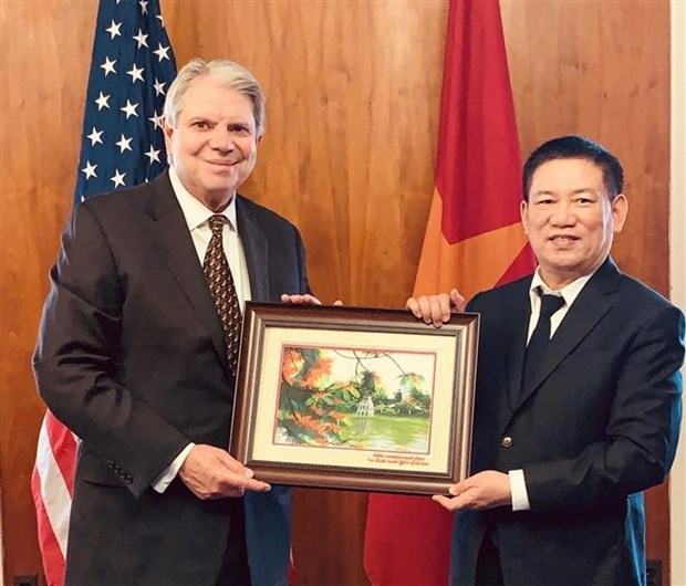 Le Vietnam et les Etats-Unis intensifient leur cooperation dans l'audit hinh anh 1