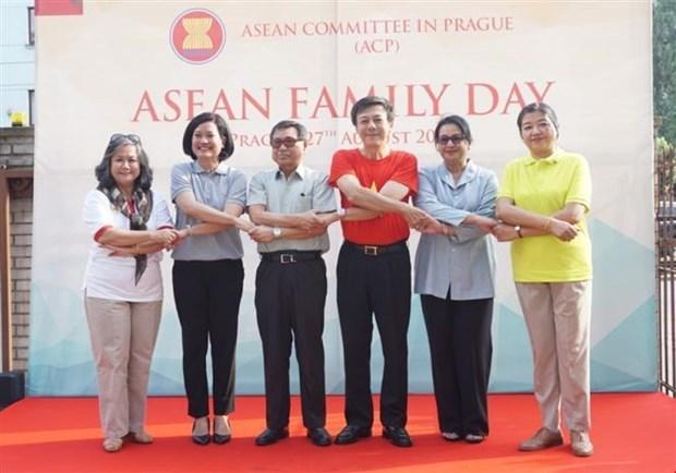 Celebration de la Journee de la famille de l'ASEAN en Republique tcheque hinh anh 1