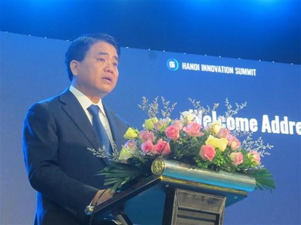 Ouverture du Sommet de l'innovation de Hanoi 2019 hinh anh 1