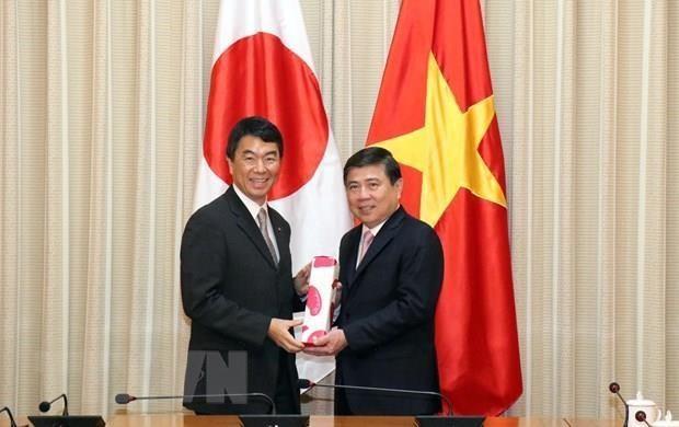 Ho Chi Minh-Ville et Miyagi (Japon) renforcent leur cooperation hinh anh 1