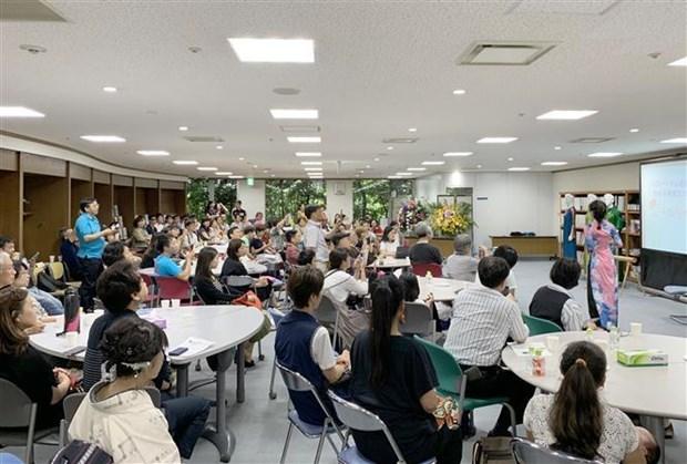 La culture vietnamienne presentee a Fukuoka (Japon) hinh anh 1