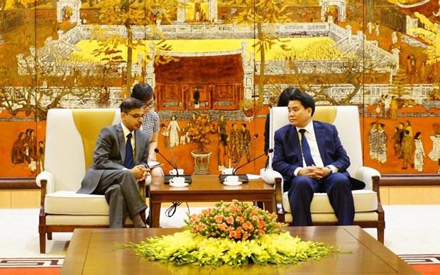 Hanoi intensifie la cooperation avec des localites indiennes hinh anh 1