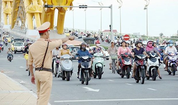 Da Nang prend des mesures pour ameliorer la circulation urbaine hinh anh 1