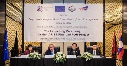 L'UE soutient le developpement des activites commerciales et d'investissements au Laos hinh anh 1
