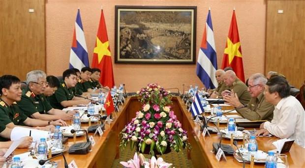 Vietnam-Cuba : 3e Dialogue sur la politique de defense a Hanoi hinh anh 1