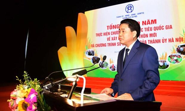 Hanoi repond a de nombreux criteres importants en matiere d'edification de la Nouvelle Ruralite hinh anh 1