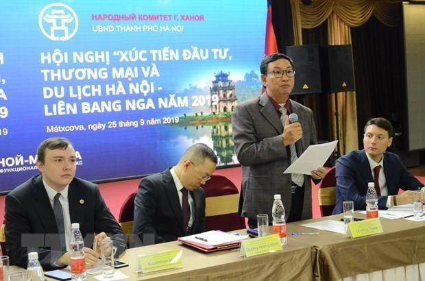 Hanoi deroule le tapis rouge aux entreprises russes hinh anh 1