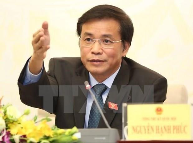 Neuf Vietnamiens sejournant illegalement en R. de Coree ne sont pas membres de la delegation de l'AN hinh anh 1