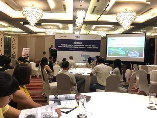 Encourager la participation des entreprises vietnamiennes dans la protection de l'environnement hinh anh 1