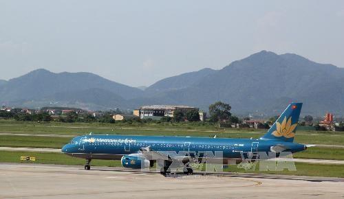 Typhon Mitag : Vietnam Airlines reporte plusieurs de ses vols hinh anh 1