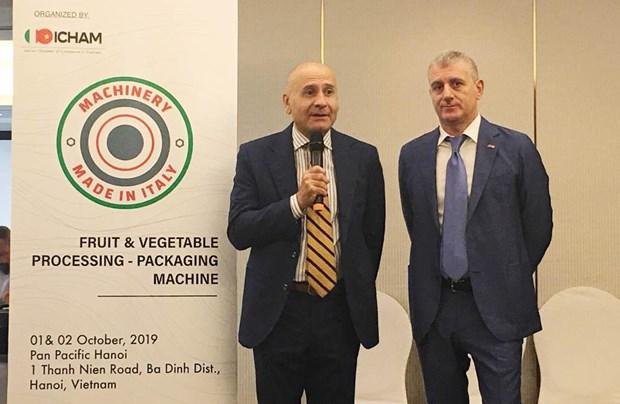 Le Vietnam, un marche strategique pour les entreprises italiennes hinh anh 1