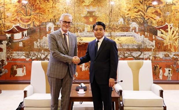 Hanoi tient toujours en haute estime sa cooperation avec des localites allemandes hinh anh 1