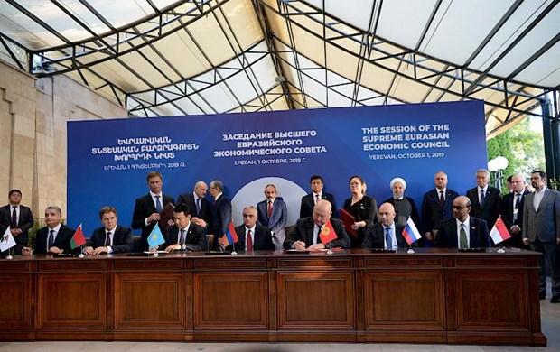 Singapour et l'UEE signent un accord de libre-echange hinh anh 1
