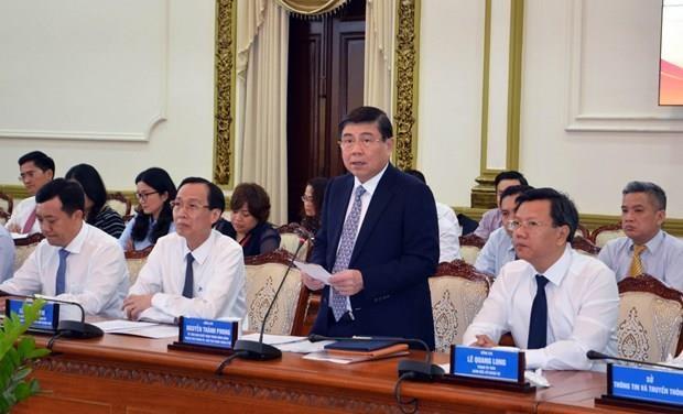 Les nouveaux ambassadeurs vietnamiens souhaitent contribuer au developpement de Ho Chi Minh-Ville hinh anh 1