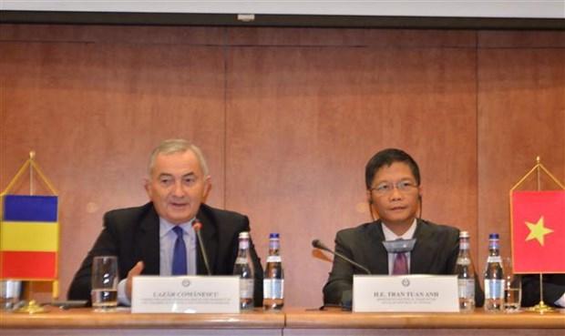 Reunion du Comite mixte Vietnam-Roumanie sur la cooperation economique hinh anh 1