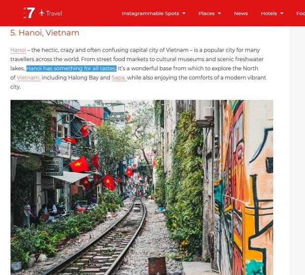 Hanoi parmi les sept meilleures destinations en Asie pour les voyageurs en solo hinh anh 1