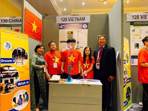 Invention : Le Vietnam remporte deux medailles d'or du concours IYIA 2019 hinh anh 1