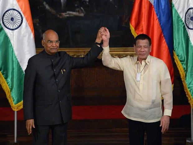 Les Philippines et l'Inde insistent sur un ordre international fonde sur des regles hinh anh 1