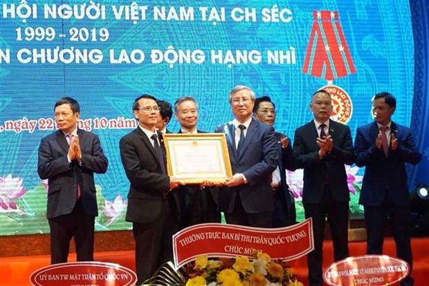 L'Association des Vietnamiens en Republique tcheque souffle ses 20 bougies hinh anh 1