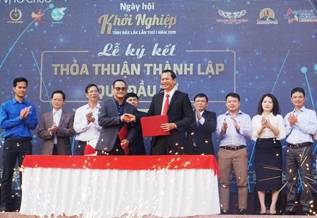 Ouverture de la journee des start-ups de Dak Lak 2019 hinh anh 1