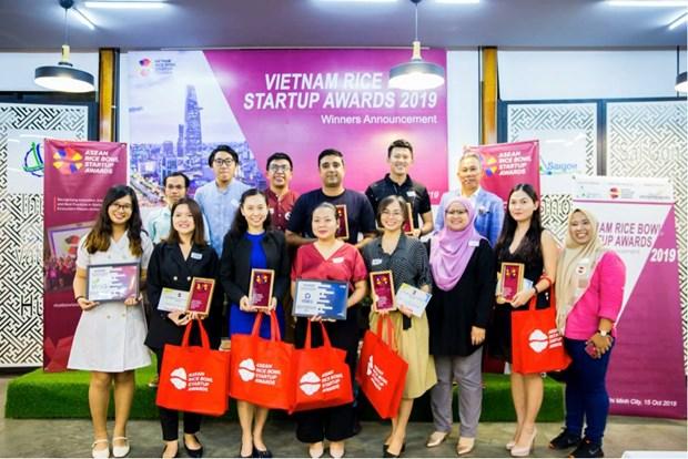 Le Vietnam qualifie pour la finale regionale des Prix de startup de l'ASEAN Rice Bowl hinh anh 1
